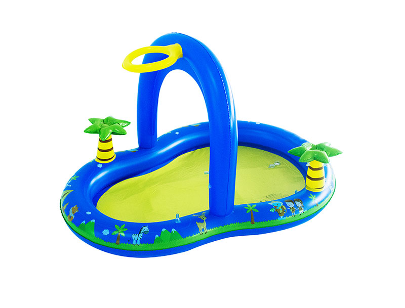 Inflatable Palm Tree Pool
